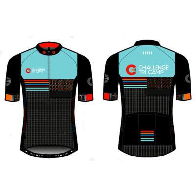Challenge Tri Camp cycling jersey short sleeved mens