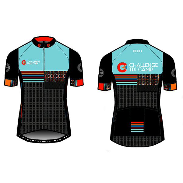Challenge Tri Camp cycling jersey short sleeved womens