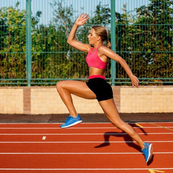 Triathlon training running