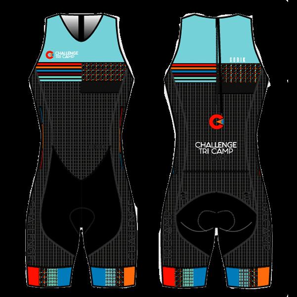 Challenge Tri Camp sleeveless tri suit